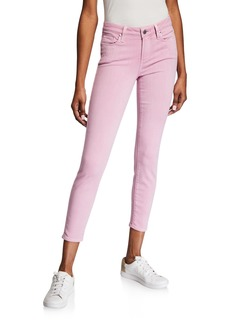 Paige Verdugo Mid-Rise Ankle Skinny Jeans