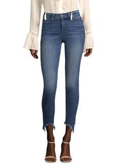 Paige Denim Verdugo Mid Rise Skinny Jeans