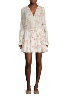 Paige Denim Yardley Floral Print Dress