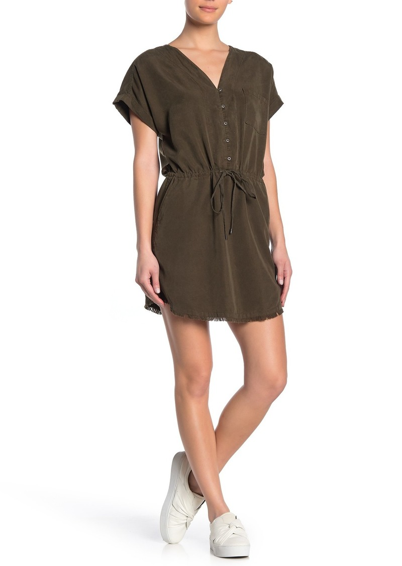 Paige Haidee Twill Shift Dress