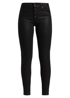 Paige Hoxton Fog Luxe Coated Jeans