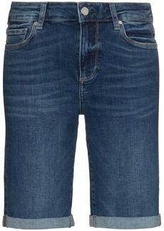 Paige Jax knee-length denim shorts