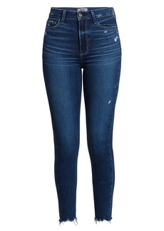 Paige Margot Ankle Distressed Hem Jeans