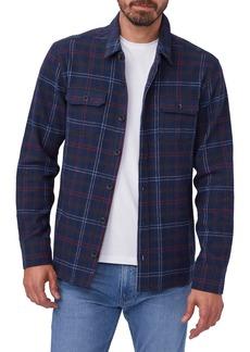 Men's Paige Eastway Plaid Button-Up Flannel Shirt