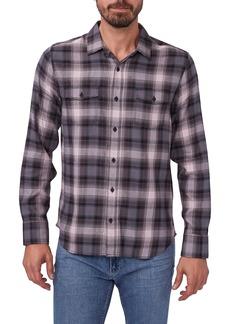 Men's Paige Everett Slim Fit Glenridge Plaid Button-Up Shirt