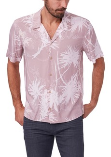 Men's Paige Landon Agave Print Short Sleeve Button-Up Camp Shirt