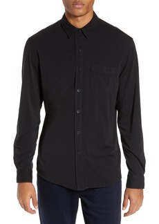 Men's Paige Stockton Slim Fit Long Sleeve Jersey Sport Shirt