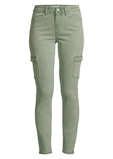 Paige Military Cargo Skinny Jeans