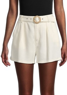 Paige Montana Belted Shorts