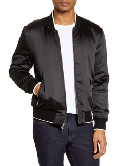 PAIGE Adams Tipped Bomber Jacket