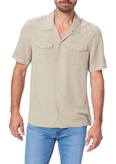 PAIGE Brookside Short Sleeve Button-Up Camp Shirt