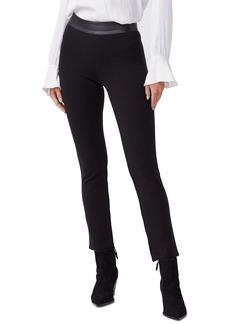 PAIGE Camilla Faux Leather Waist Slim Pants
