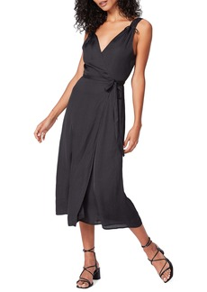 PAIGE Cersia V-Neck Wrap Dress
