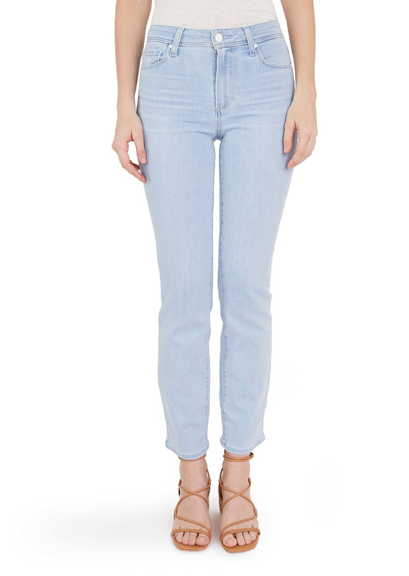 PAIGE Cindy High Waist Straight Leg Jeans (Ryman)