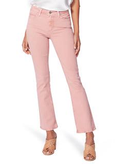 PAIGE Claudine Ankle Flare Jeans (Vintage Pink Quartz)
