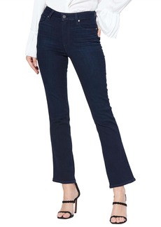 PAIGE Claudine High Waist Ankle Flare Jeans (Telluride)
