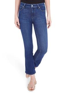 PAIGE Colette Crop Flare Jeans (Mai Tai)