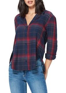 PAIGE Davlyn Plaid Shirt