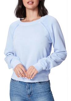 PAIGE Daytona Braid Trim Sweatshirt