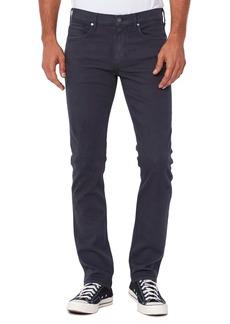 PAIGE Federal Slim Straight Leg Jeans (Dark Foggy Harbor)
