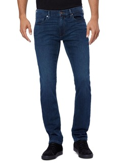 PAIGE Federal Straight Slim Jeans in Parnell