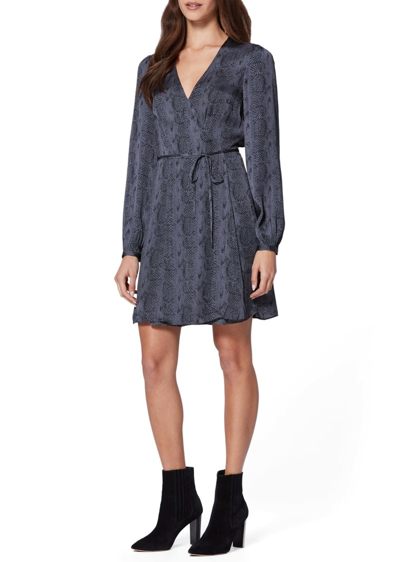 Paige Garance Snake Print Long Sleeve Dress (Nordstrom Exclusive)