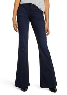 Paige Genevieve High Waist Flare Jeans (Claribelle)