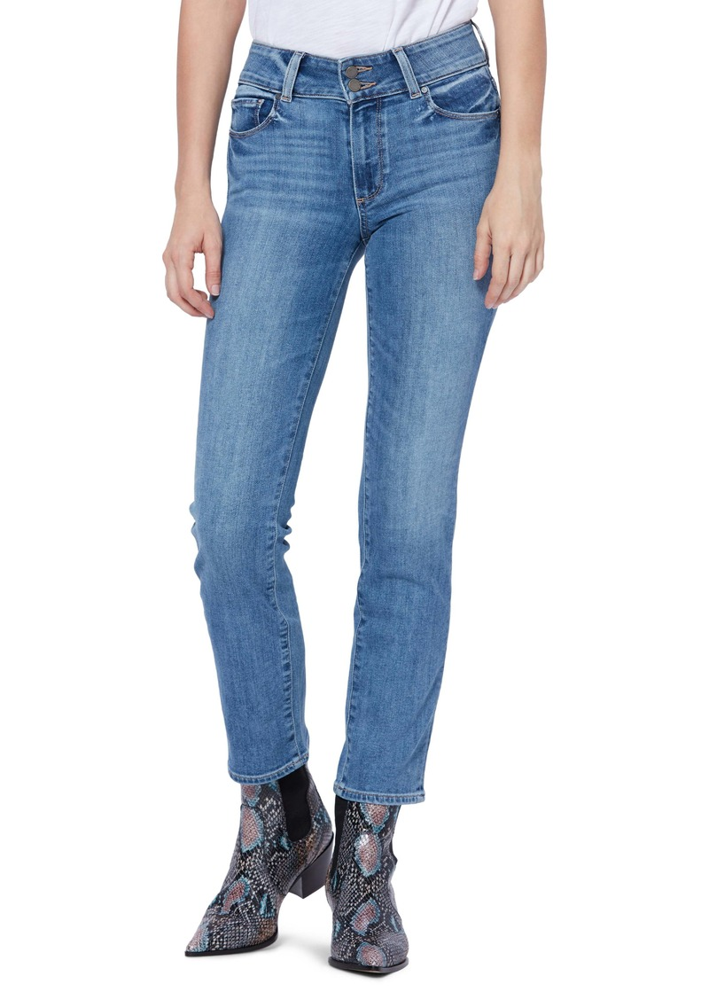 PAIGE Hidden Hills Ankle Straight Leg Jeans (Caylee)