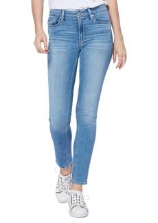 PAIGE Hoxton High Waist Ankle Skinny Jeans (Lexine)