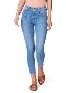 PAIGE Hoxton High Waist Crop Skinny Jeans (Jukebox)