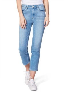 PAIGE Hoxton High Waist Crop Skinny Jeans (Lo-Fi Distressed)
