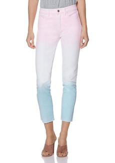 PAIGE Hoxton Slim Jeans in Sunset Ombr�