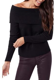 Paige Izabella Off-the-Shoulder Sweater