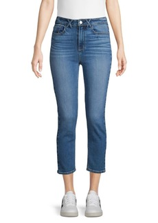 Paige Jeans Cropped Skinny Jeans