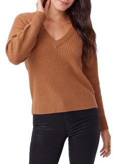 PAIGE Kamila V-Neck Cashmere Sweater