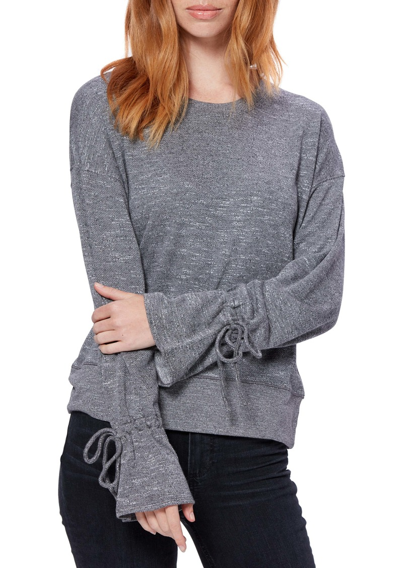 PAIGE Keily Tie Cuff Long Sleeve Top