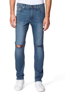 PAIGE Lennox Ripped Slim Fit Jeans (Paulsen Destructed)
