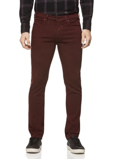 PAIGE Lennox Slim Fit Jeans in Rustic Wine