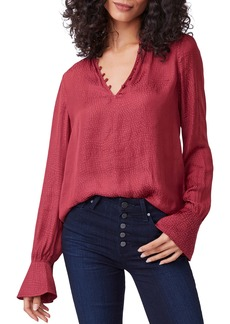PAIGE Lizzy Ruffle Sleeve Blouse