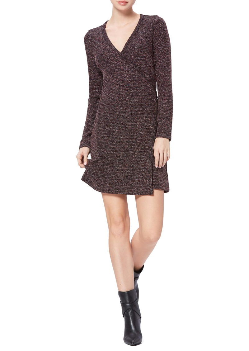 PAIGE Lucielle Long Sleeve Wrap Dress