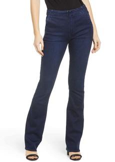 PAIGE Manhattan High Waist Bootcut Jeans (Mayven)