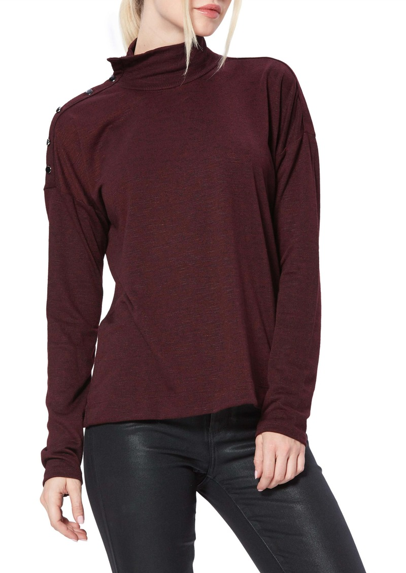 PAIGE Paxton Convertible Neck Top