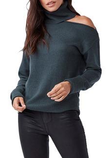PAIGE Raundi Cold Shoulder Turtleneck Sweater