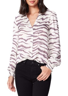 PAIGE Renay Stripe Blouse