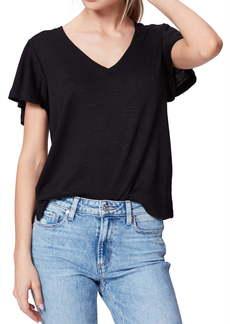 PAIGE Rochel Ruffle Sleeve T-Shirt