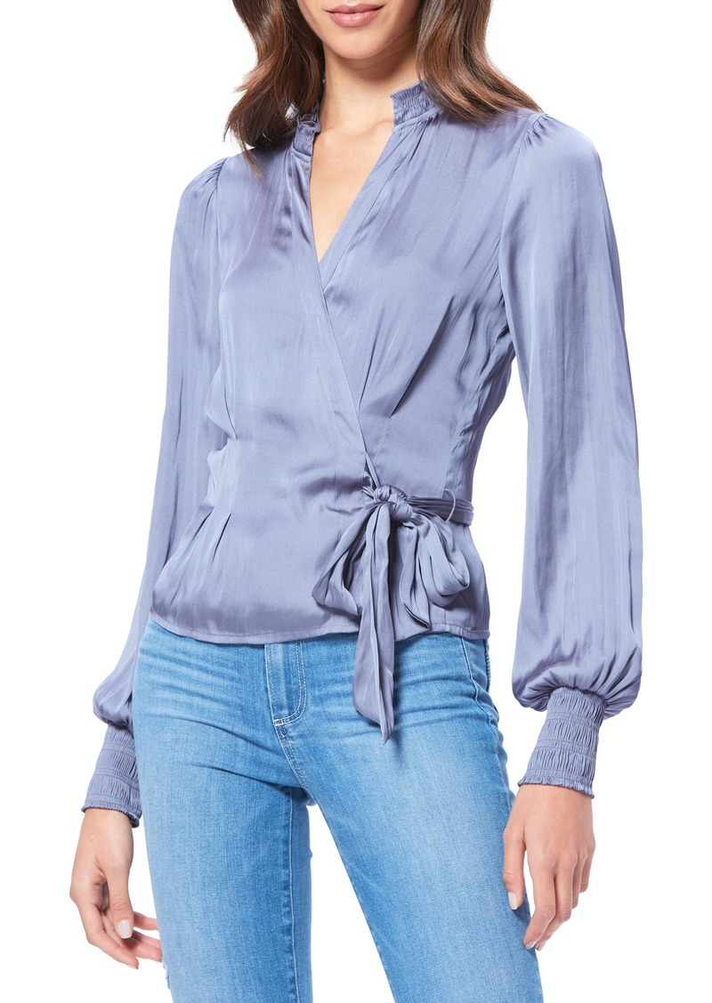 PAIGE Selby Satin Blouse