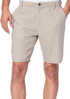PAIGE Thompson Slim Fit Linen Blend Shorts