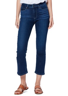 PAIGE Transcend - Colette Crop Flare Jeans (Brentwood)
