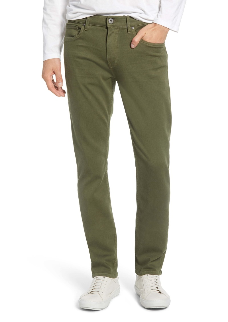 PAIGE Transcend - Federal Slim Fit Straight Leg Jeans (Island Palm)