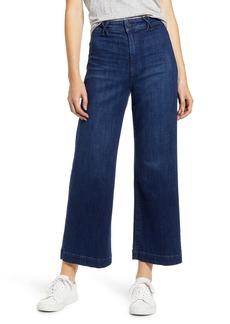 PAIGE Transcend - High Waist Ankle Wide Leg Jeans (Roya)